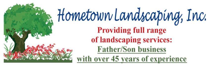 Hometown Landscaping logo
