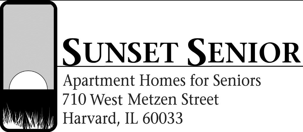 Sunset Senior Apts logo