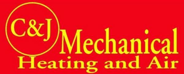 C&J Mechanical logo