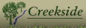Creekside Landscaping logo