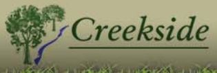 Creekside Landscaping logo