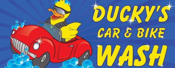 Duckys Car Wash logo